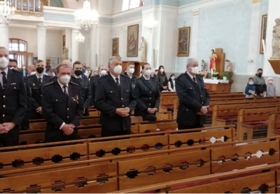 Foto ze mše svaté za hasiče